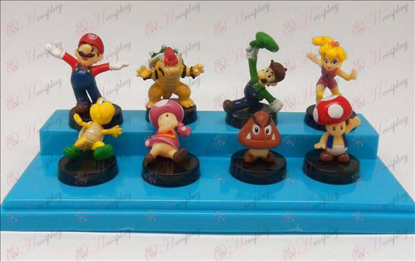 Eight Super Mario Bros Accesorios muñeca cuna