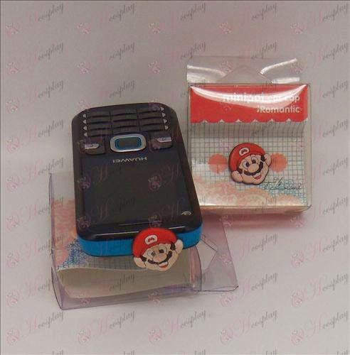 Teléfono celular enchufe del auricular (Super Mario Bros Accesorios)