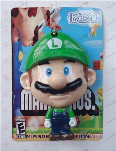Super Mario Bros Tilbehør Mirror (Grøn)