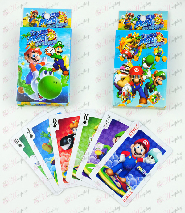 Super Mario Bros Accessories Poker