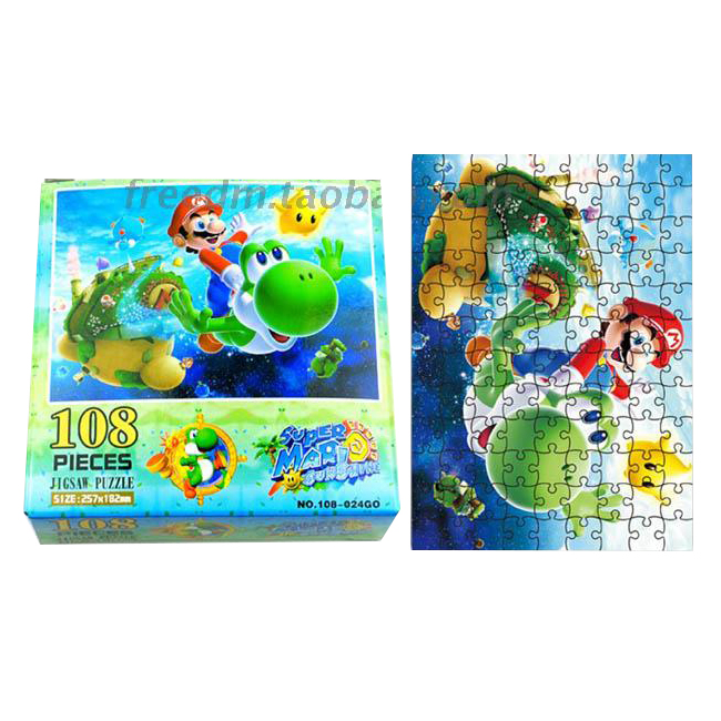 Super Mario Bros Tilbehør puslespillet (108-024)