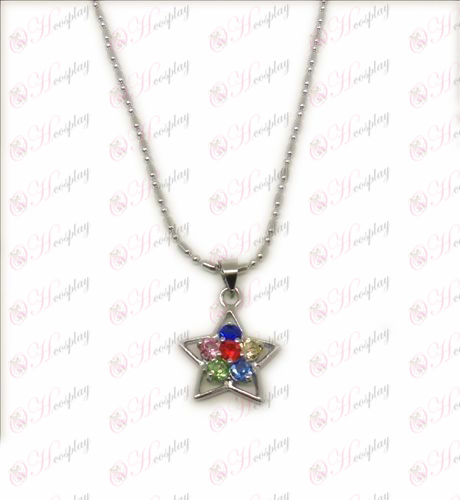D Blister Lucky Star accesorios collar (Diamond)