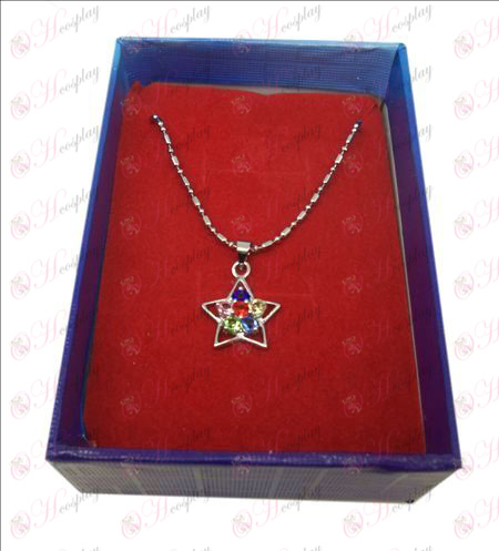 D en caja Lucky Star accesorios collar (Diamond)