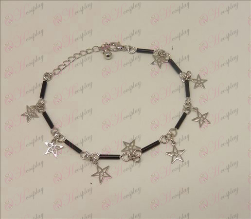 Lucky Star Accessori Bracciale (nero). JPG