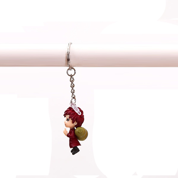 Naruto - Gaara colored four pendant phone chain