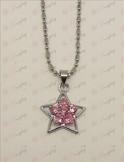 Blister Lucky Star Аксесоари Diamond Колие (Pink)