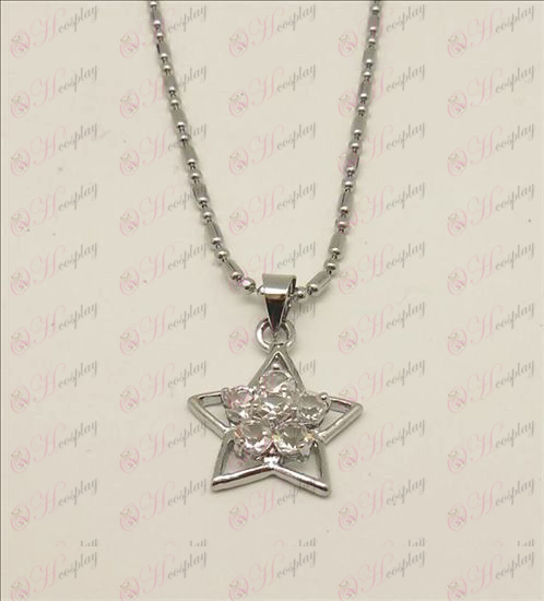 Blister Lucky Star accessori collana di diamanti (Bianco)