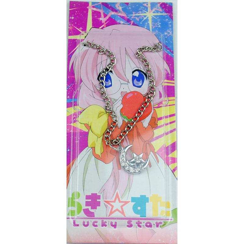 Card инсталиран Lucky Star Diamond Accessories (Moon и Star) Колие