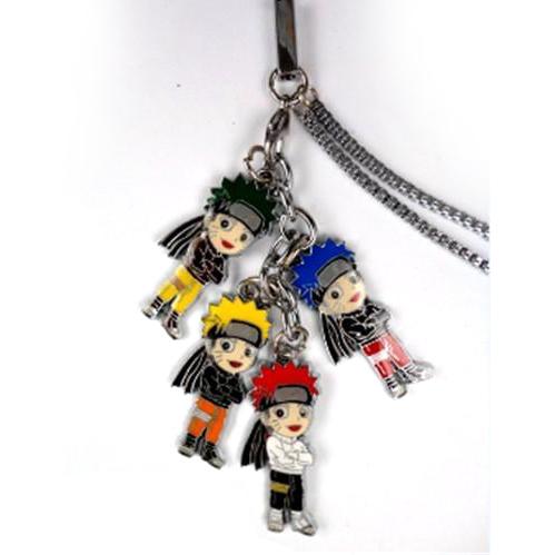 Naruto - Naruto Color 4 Vedhæng mobiltelefon kæde