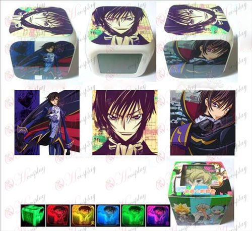 Lelouch tres superficie color colorido reloj despertador