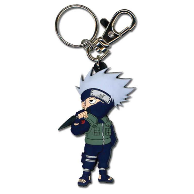 Naruto - Kakashi, színes 4 Medál kulcstartó