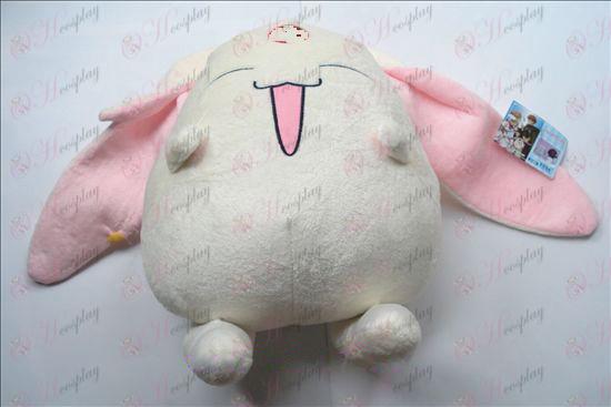 הבובה הלבנה צאבאסה אבזרים קטיפה (גדול) 37 * 41cm