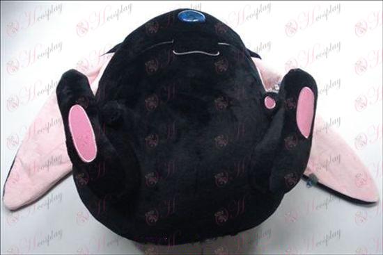 Черно Tsubasa Аксесоари плюшена кукла (двойно) 37 * 41 сантиметра
