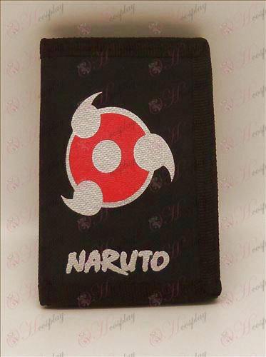 Canvas портфейл (Naruto напиши кръгли очи)