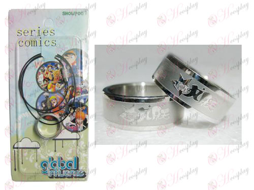 Star-Stealing Girl Accessories Frosted Ring Колие - Rope