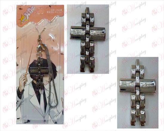 Star-Krádež Girl Príslušenstvo Cross remienok v čiernej a bielej