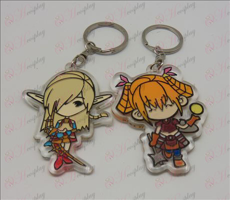 Lineage 2 Organic Keychain (6 / set) Halloween Accessories Online Store