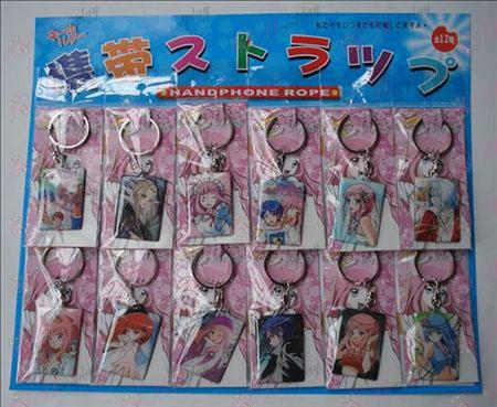 Star Kraja dekle Accessories12 plošča iz Obesek