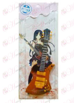 Ljus ton gitarr Lättare -3