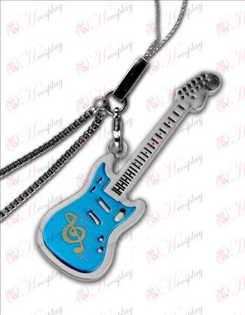 K-On! Tillbehör-gitarr en telefon kedja