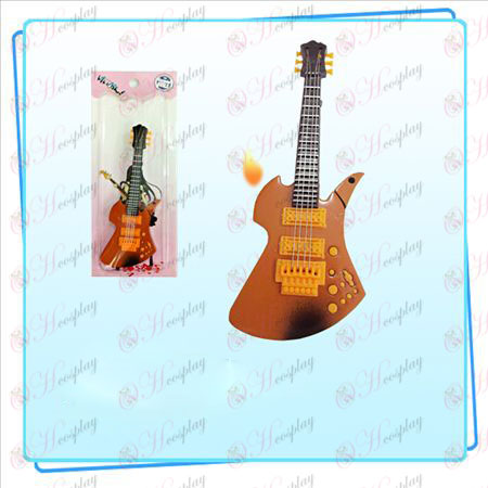 Light tone guitar candy colored lighter (orange) Halloween Accessories Online Store