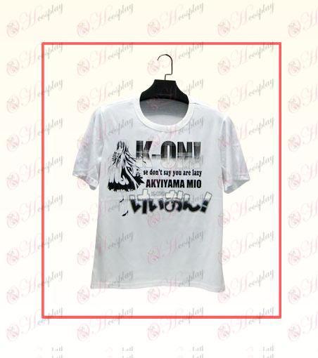Light tone T-shirt 01
