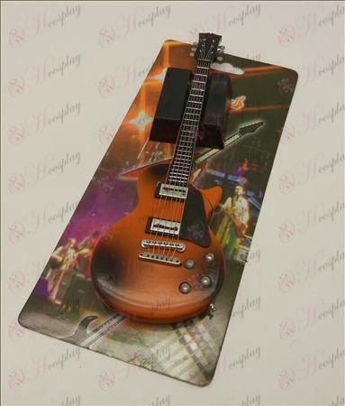 Pretisni svetlobnih odtenkov veliki kitara vžigalnik (24 #)