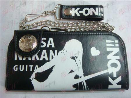 K-On! ארנק גדול אבזרים (שחור)