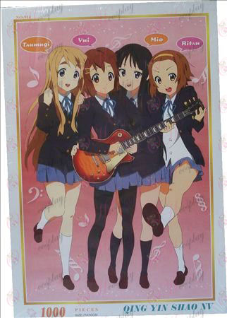 K-On! Accessories Jigsaw 1000-914