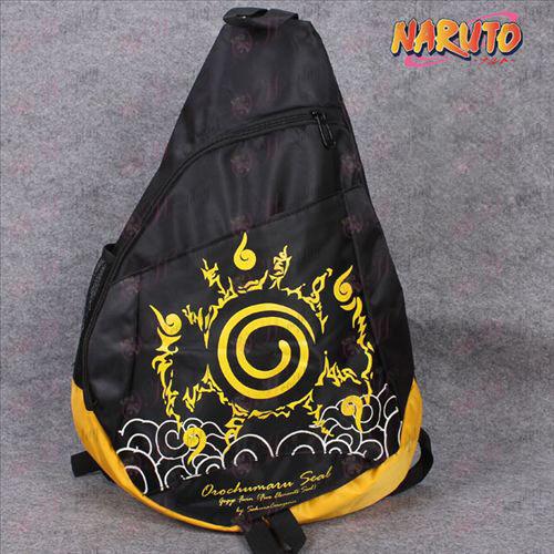 나루토 나루토 소용돌이 로고는 옥스포드 삼각형 토트 백