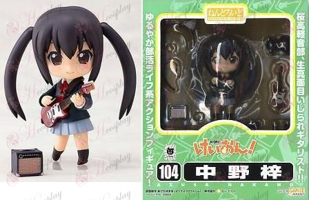 Q-104 # K-On! Accessories-Nakano Azusa doll face transplant