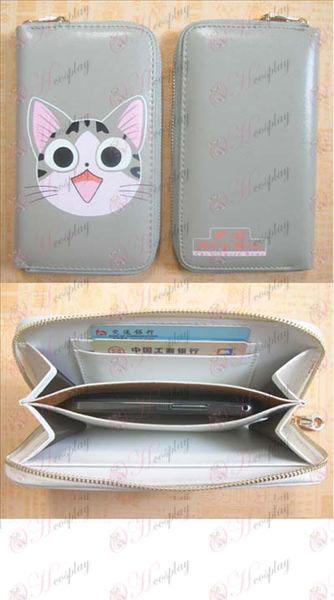 Sladké Cat Príslušenstvo Mobilná peňaženka