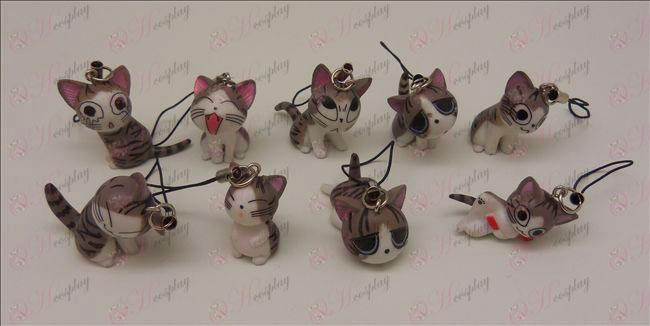 9 Sweet Cat Accesorios Correa Machine (gris)