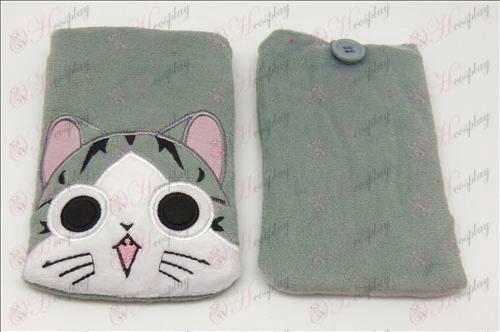 אבזרים כיס טלפון סלולרי של חתול מתוק (פתיחה)