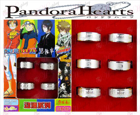 Pandora pomrznjeno Ring (6 / set)