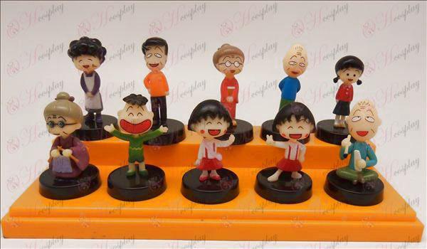 10 Chibi Maruko Chan dodatki lutka zibelka