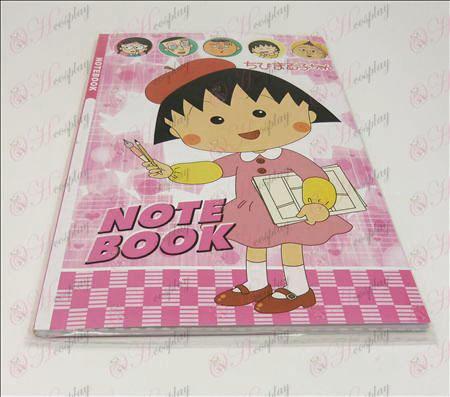 Chibi Maruko Chan Tilbehør Notebook