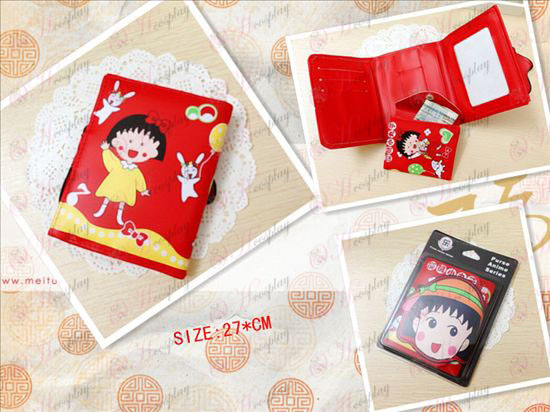 Chibi Maruko Chan Accessories Avatar wallet Halloween Accessories Online Store
