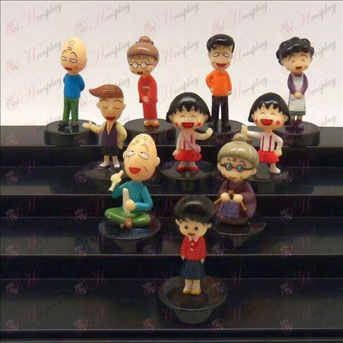 10 piccole palline bambola culla