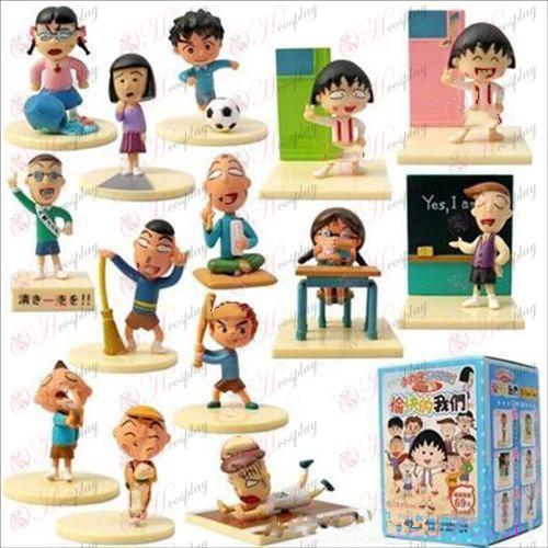 3.14 Maruko scene doll (happy we) 4cm
