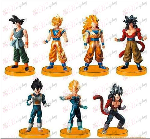 16 per conto del 7 base del Dragon Ball Kit di accessori (Jane)