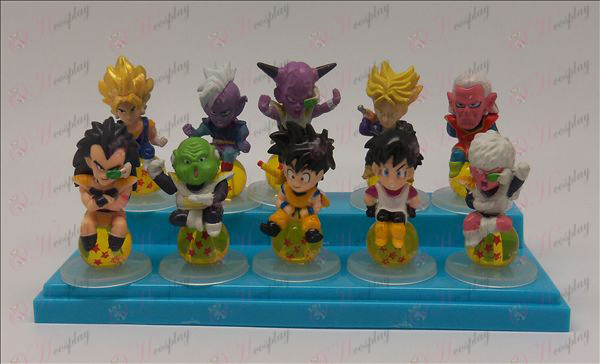 10 sit Pearl Dragon Ball Accessories Base Cute mini Figurine Online Shop
