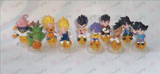 10 Dragon Ball Аксесоари седне топчета кукла