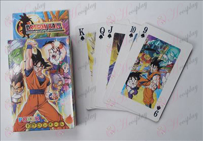 Dragon Ball Tarvikkeet Poker