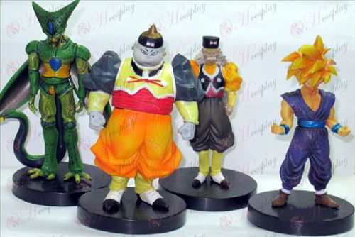 34 per conto di quattro ultra base di colore Dragon Ball Accessori