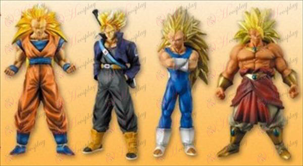 31 per conto di quattro ultra-colore Dragon Ball Accessori (16cm)