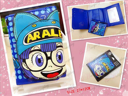 Dr. Slump Accessories Xiaoyun bulk wallet (blue)