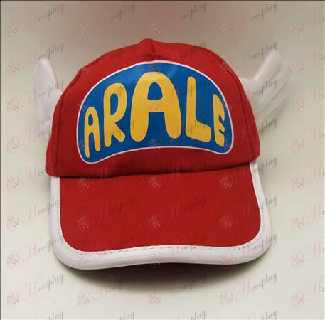 D Ala Lei hat (red)