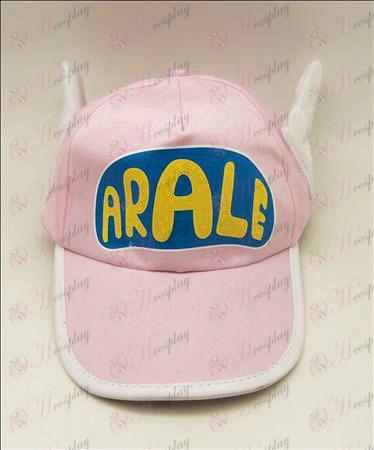 D Ala Lei hat (pink)