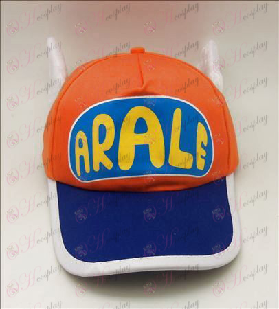 D Ala Lei hat (orange)